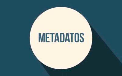 ¿Qué son los metadatos?