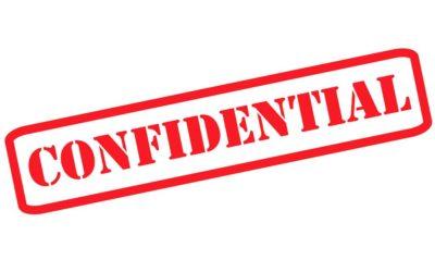 ¿Qué es información confidencial?