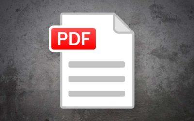 Metadatos PDF: qué son y qué propiedades tienen